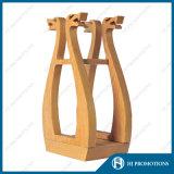 Caja de madera de la botella del licor del estilo retro (HJ-PWTY01)
