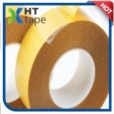 El papel amarillo del desbloquear del papel cristal con el doble del animal doméstico echó a un lado cinta