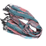 Custom 55% Seda 45% Rayon Blended Women Scarf