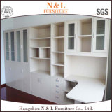 Guardaroba di legno di stile moderno domestico della mobilia