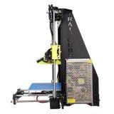 Imprimantes de bureau rapides du prototype DIY Fdm 3D de l'acrylique 210*210*225mm d'élévation pour le GV de la CE