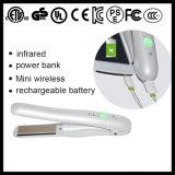 Straightener recarregável sem fio elétrico do cabelo do USB mini (V180)