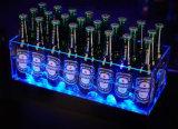 Seau à glace acrylique, cadre d'Afficheur LED