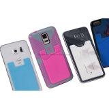 portatarjetas promocional del teléfono móvil del silicón de la etiqueta engomada de los 3m