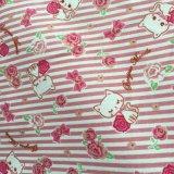 franela 100%Cotton impresa para los pijamas