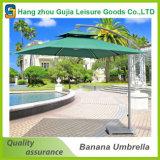 Encorbellement carré arrêtant le parapluie extérieur de patio de plage