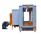 Cabine de pulverizador automática industrial do pó