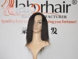 Capelli umani brasiliani 22.5 x del Virgin diritto un Frontal di seta dei 360 merletti 4 x 2 con la fascia elastica Lbh 188