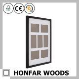 Черное деревянное изображение картинной рамки 7 для домашнего декора