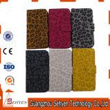 Напечатанные леопардом кожаный iPhone/Samsung аргументы за