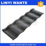 電流を通されるシート、多彩な石のすべての種類の構造の建物のための上塗を施してある金属の屋根瓦に屋根を付ける
