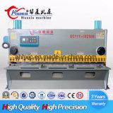 Macchina di taglio della ghigliottina idraulica industriale calda di vendita QC11k 10*3200