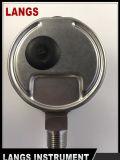 072 Wikaのタイプ底すべてのSt Stの圧力計