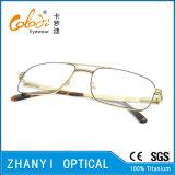 Blocco per grafici di titanio di vetro ottici di Eyewear del monocolo del Pieno-Blocco per grafici di alta qualità (9413)