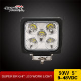 5 de '' luz resistente do trabalho do diodo emissor de luz do CREE 50W IP68