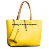Nuovo sacchetto di Tote della donna di modo con la grande casella principale (BDMC010)