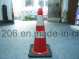 Cone do tráfego do PVC 700mm Mutilcolor