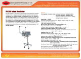 Ce/ISO 승인 병원 신생아 통풍기 PA-700