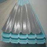 Hoja acanalada de la iluminación del tragaluz de la fibra de vidrio/hoja flexible de FRP