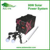 système du d'éclairage 80W solaire