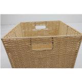 Произведенная бумажная корзина хранения дома шнура (zstk-b008)