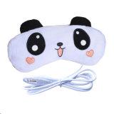 Подушка глаза USB плюшевого медвежонка промотирования электрическая приведенная в действие Heated Heated