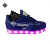 De LEIDENE Lichte Schoenen van Sporten, de Schoenen van de Tennisschoen, Toevallige Schoenen
