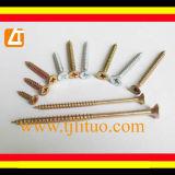 Gute Qualität, konkurrenzfähiger Preis, verdoppeln angesenkte Spanplatte-Schraube