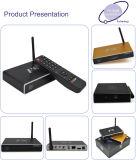 아랍 IPTV Apk를 가진 살아있는 텔레비젼 F8 인조 인간 4.4 WiFi Google 지능적인 HD 유선 텔레비전 고정되는 최고 상자
