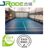 Interior y exterior corte de bádminton Deportes superficie del piso