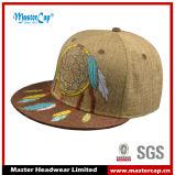 Крышка забрала ткани вышивки способа Linen плоским приспособленная шлемом