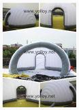 Tenda gonfiabile di mostra dell'ufficio gonfiabile mobile esterno del salotto