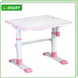 Crank ergonómico Adjustable Tilting Children Table com Metal Legs