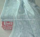 100% manta suave hecha punto algodón del bebé