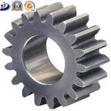 Части CNC стали углерода точности OEM подвергая механической обработке для шестерни