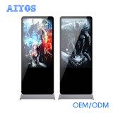 Transparente LCD-Bildschirmanzeige androides OS Multi-Berühren Panel-DigitalSignage