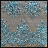 Laço elegante do bordado do engranzamento para o vestido