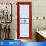 China-Großhandelsaluminiumbadezimmer-Tür für Aufbau