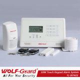 ¡Instrucción alemana de la voz! Nuevo sistema de alarma del G/M con la exhibición del LCD y el telclado numérico del tacto