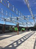 Pabellón estructural de acero con el panel del aislante de PIR con alta calidad
