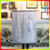 Bandeira de suspensão da tela da impressão de Cmyk para o projeto da decoração da loja