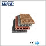 中国からの100%再生利用できるWPCのDeckingの木製のプラスチック合成のフロアーリング
