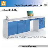 De la qualité des armoires dentaires en métal de couleur bleue