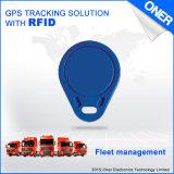 Plein traqueur de la fonction GPS pour le véhicule de début seulement par RFID