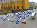 Reboque galvanizado do barco do eixo em tandem (TR0230)