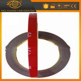 El doble gris adhesivo del color echó a un lado cinta con el espesor 1.5m m o 2m m
