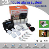 Smart Home Multi-Function Sistema de LCD GSM Alarm (G50B)