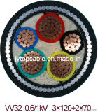 1kv Nyfy Electrical Cable Low Voltage LV Nyry Electric Cable