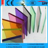 стекло высокого качества 6.38-42.3mm ясное покрашенное прокатанное