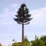 강철 단 하나 관 통신을%s 생체공학 인공적인 위장된 나무 탑